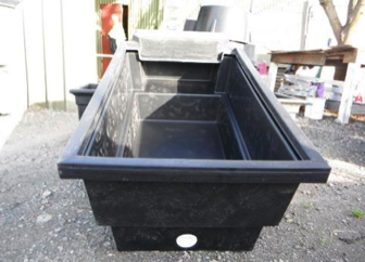 rectangle poly trough