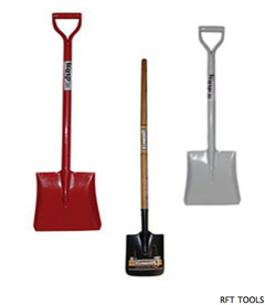 Shovels all sizes all uses